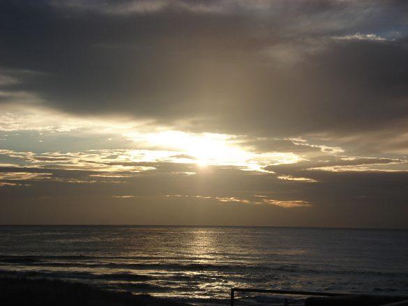 sončni vzhod Avstralija
