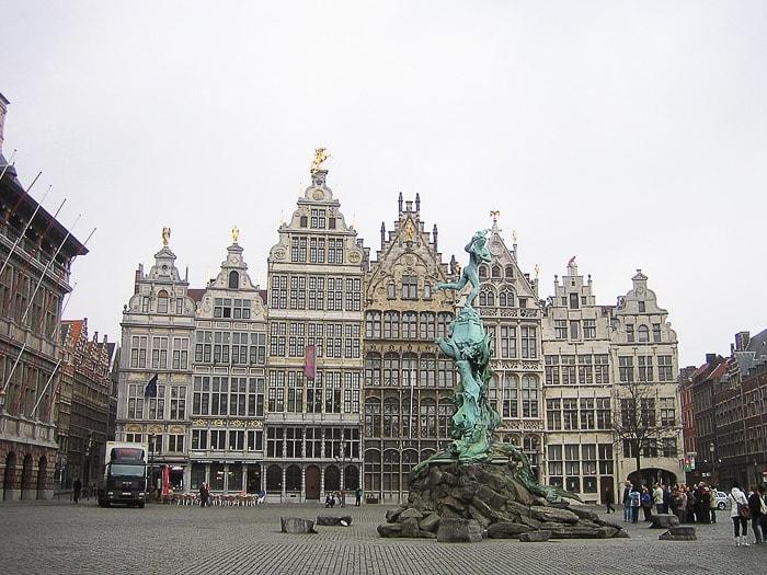 Glavni trg v Antwerpnu