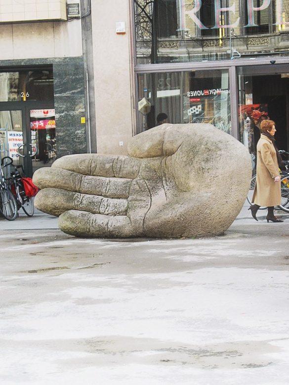 kip dlani v Antwerpnu
