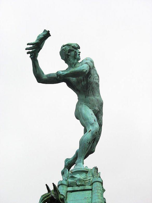 kip metalca dlani v Antwerpnu