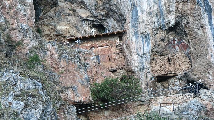 skalni samostan Ohrid