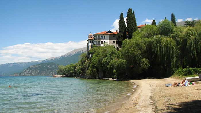 samostan sv. Naum, Ohrid