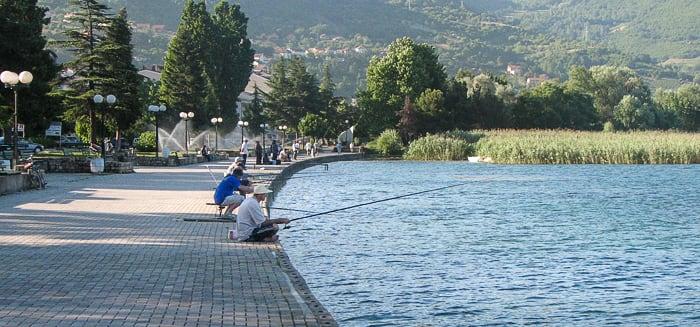 promenada Ohridsko jezero