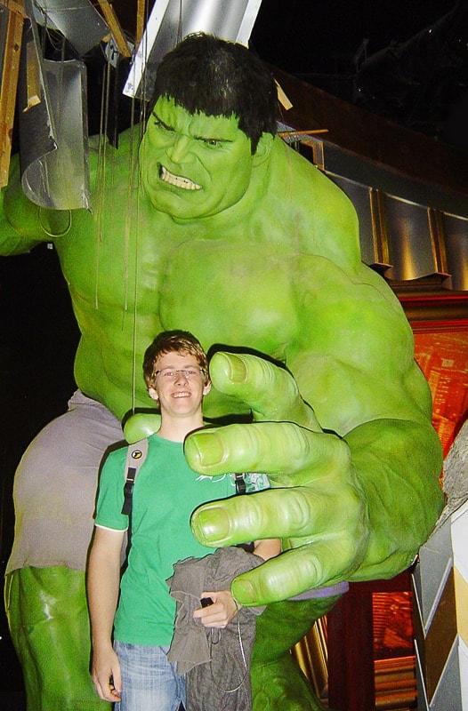 Hulk v Londonu