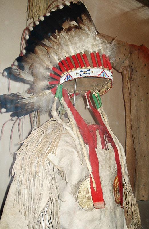 obleka indijanca