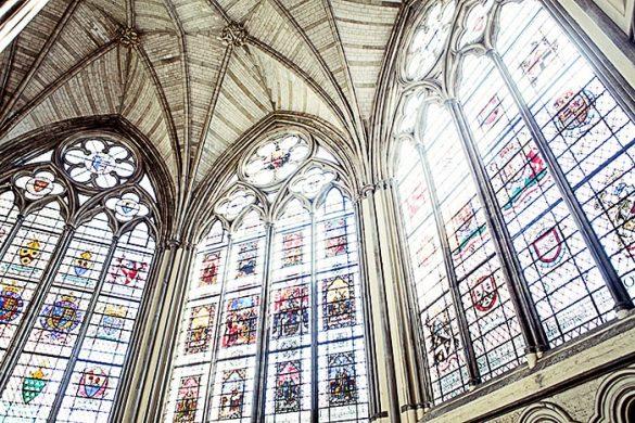 barvna stekla westminster abbey