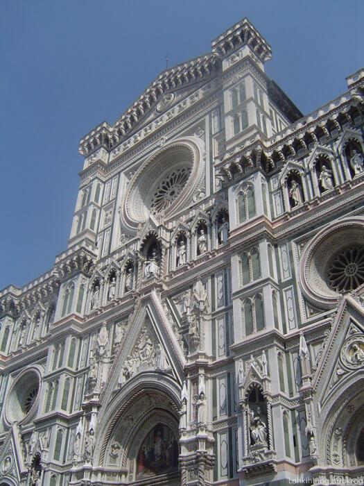 pročelje renesančne katedrale v Firencah