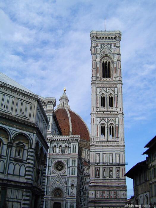 Zvonik katedrale v Firencah