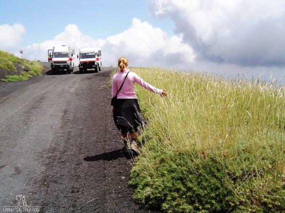 vzpon na Etno peš ali s terencem