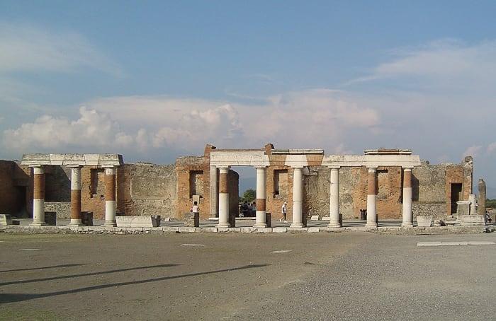 antični pompeji