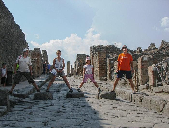 prehod za pešce Pompeji