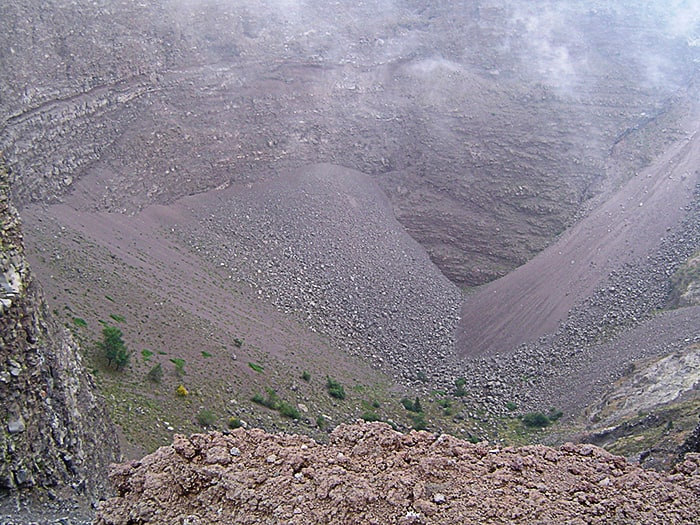 krater Vezuv