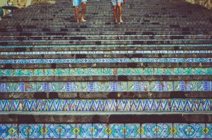 Caltagirone, stopnice iz keramičnih ploščic