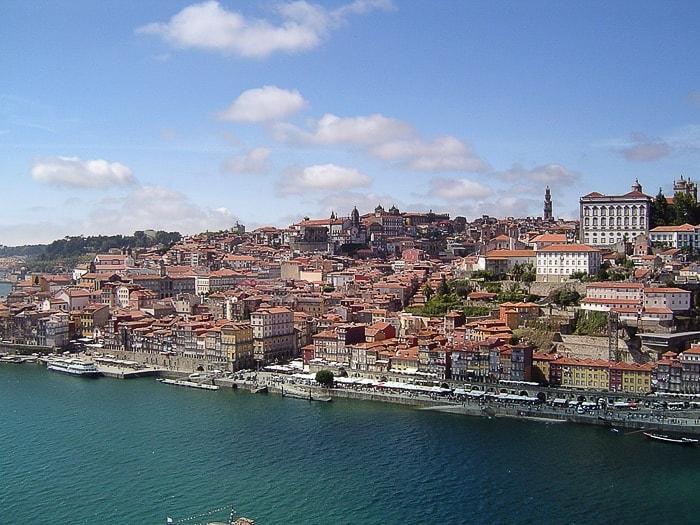 mesto Porto ob reki Duero