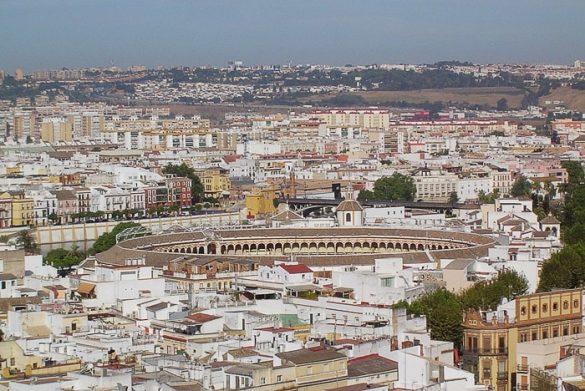 bikoborska arena v Sevilji