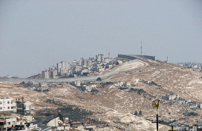 berlinski zid med Izraelom in Palestino