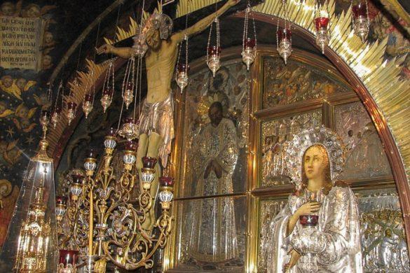 oltar Jezusovega križanja
