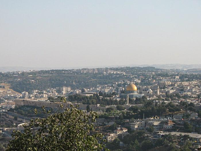 pogled na Jeruzalem