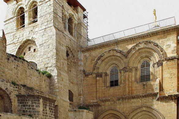 cerkev jezusovega groba, Jeruzalem