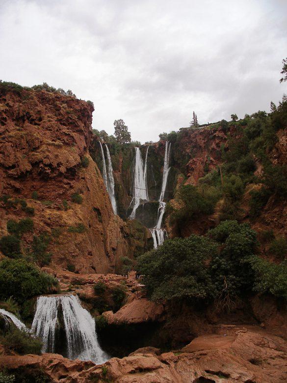 cascades d ouzoud, slap maroko