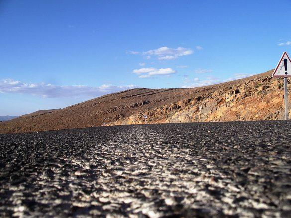 cesta v Maroko