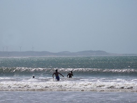 valovi Atlantika v Essaouiri