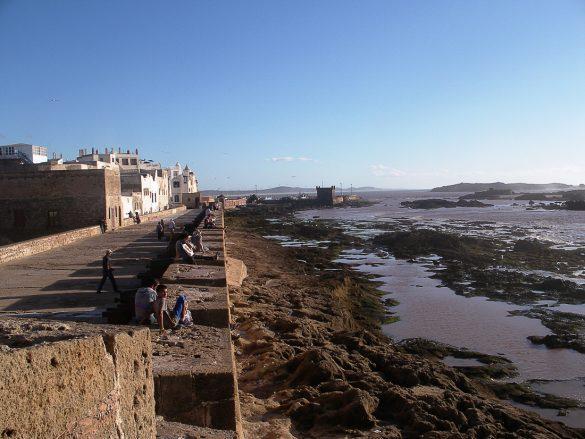 obzidje Essaouire, Maroko