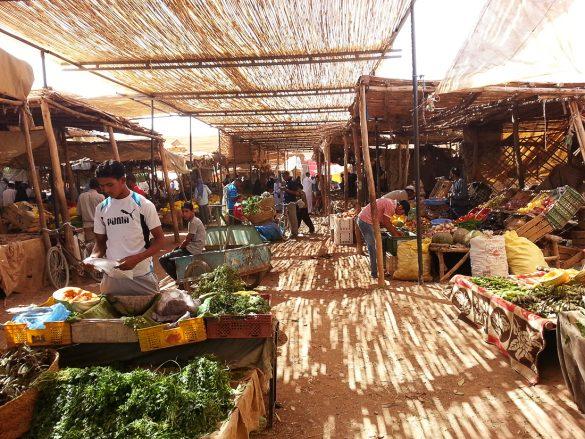 tržnica v Maroku