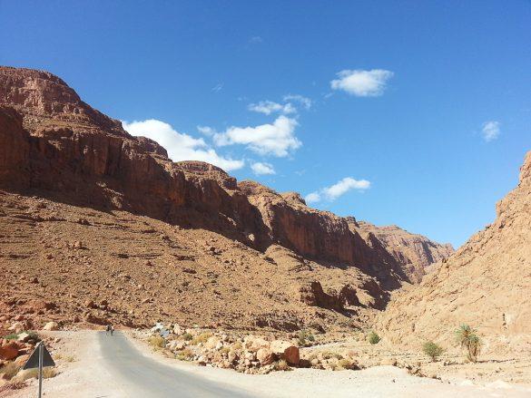 gorska cesta MAroko Visoki Atlas