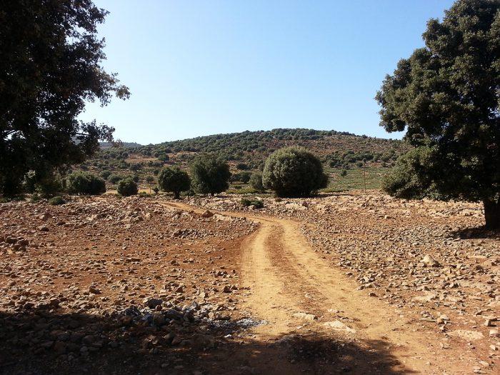 makadamska cesta za terenska vozila v Maroku, Visoki Atlas