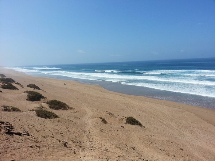 plaža Massa, Maroko
