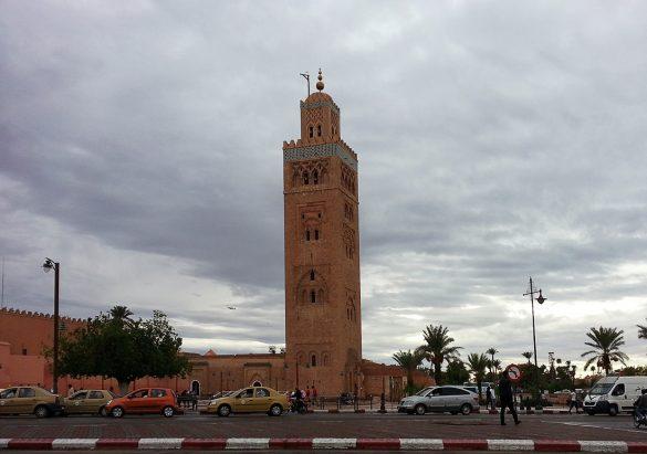 Marrakech minaret Koutoubia