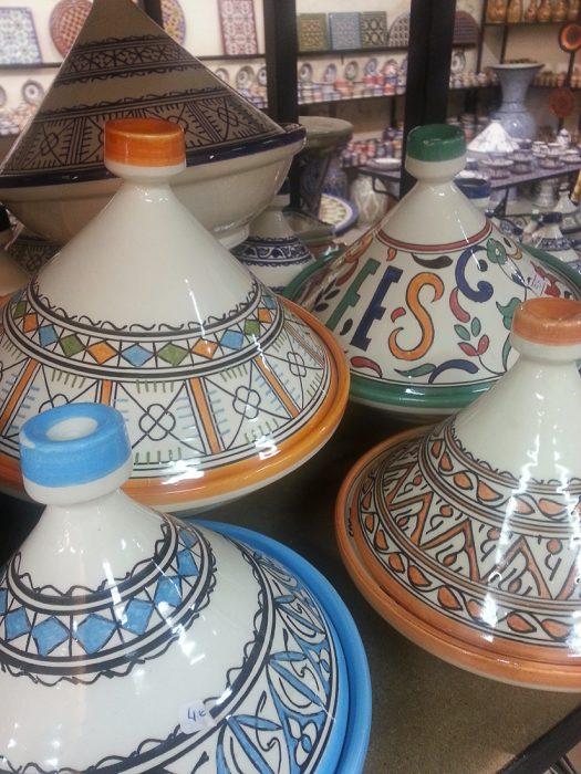 posoda za tajine, Maroko