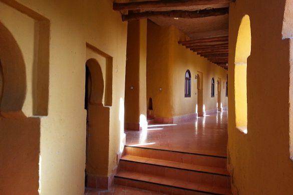 hodnik tipična maroška hiša kasbah