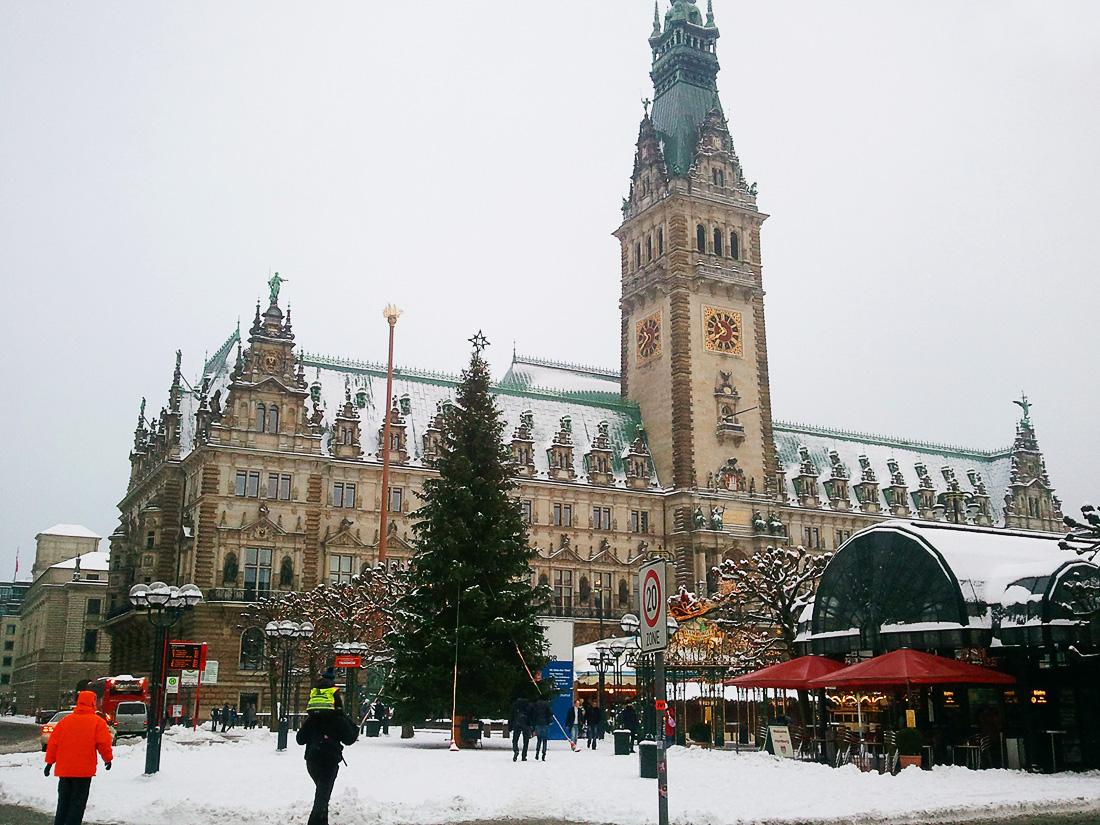 mestna hiša Rathaus Hamburg