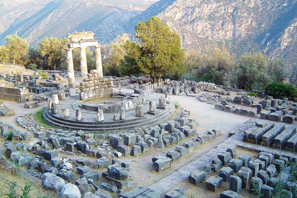 Delfi, arheološki ostanki v Grčiji