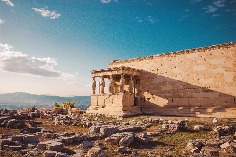 atene grčija tempelj
