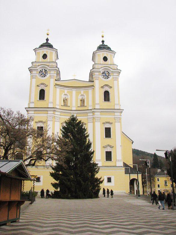 Cerkev v kraju Mondsee