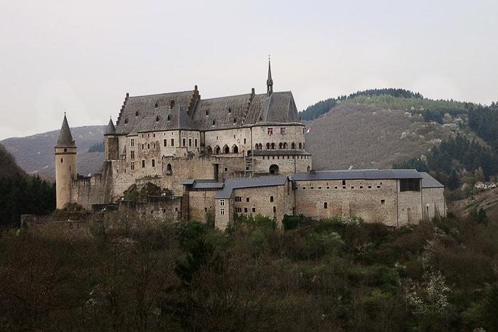Grad Vianden, Luksemburg