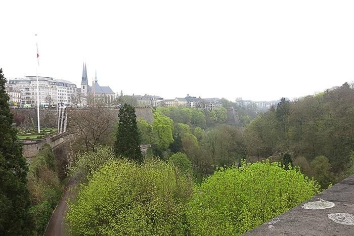 Luksemburg mesto