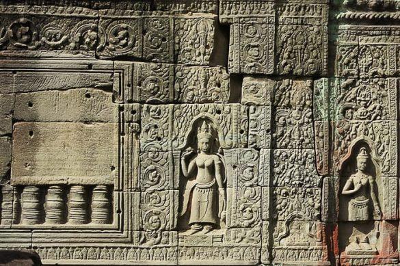 detajl iz templja Preah Khan