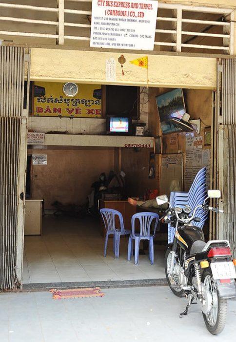 avtobusne vozovnice Phnom Penh-Can Tho