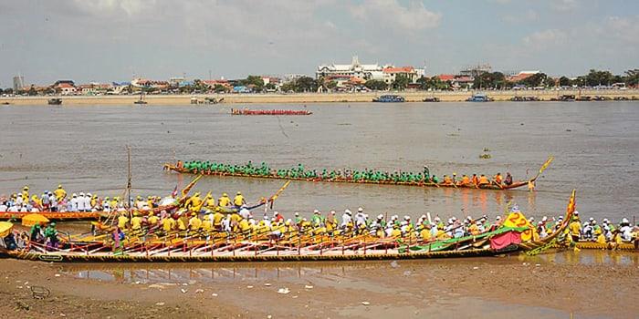 Water festival, Phnom Penh