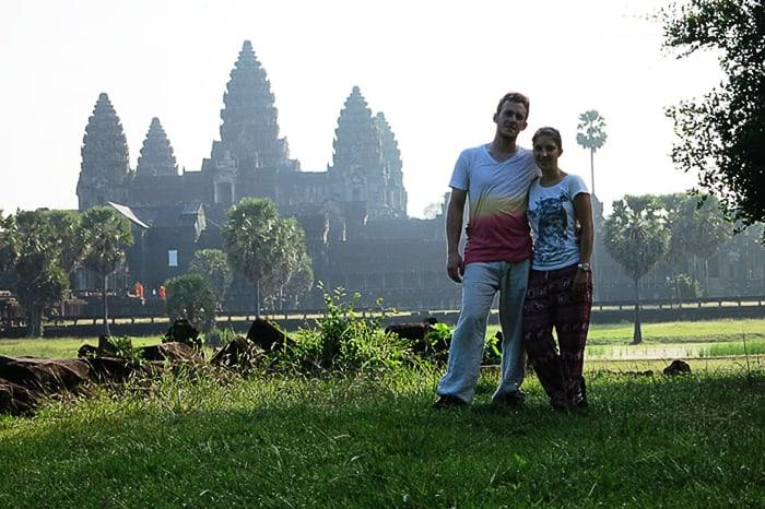 poročno potovanje: Kambodža, Angkor Wat