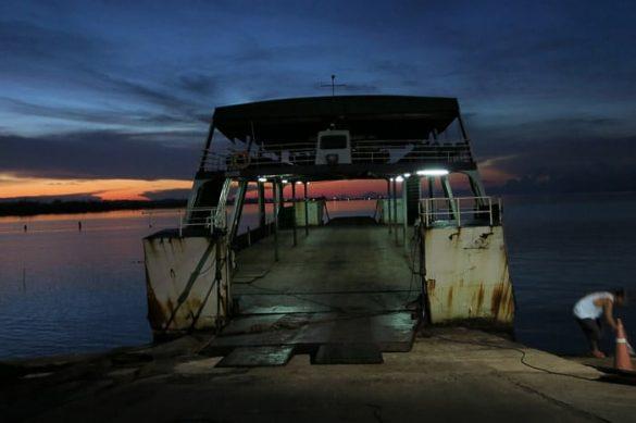 trajekt na otok Koh Chang