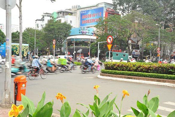promet v Ho Chi Minh city-u