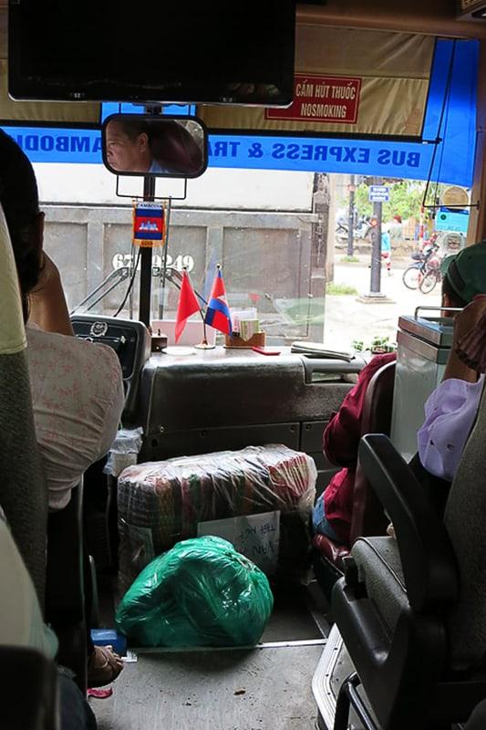 paket na avtobusu