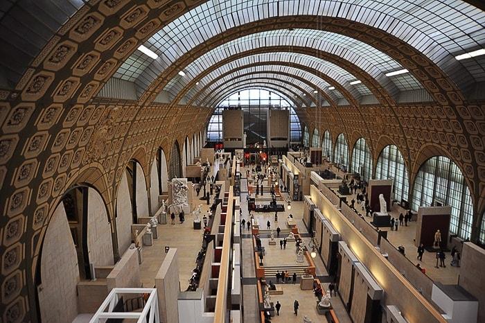 Musee d'Orsay v nekdanji železniški postaji
