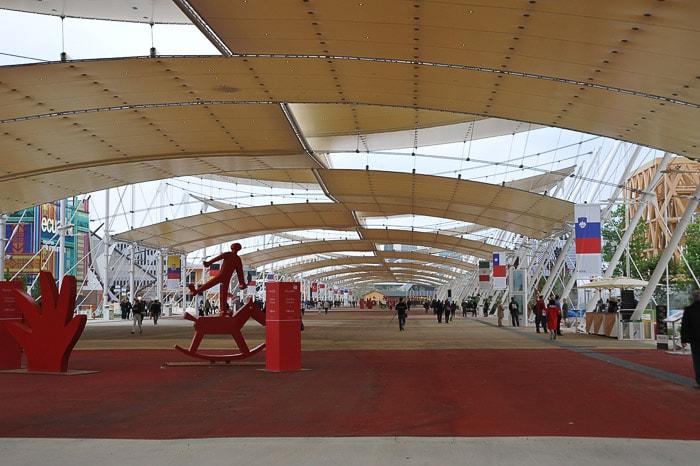 Expo Milano 2015 glavna avenija