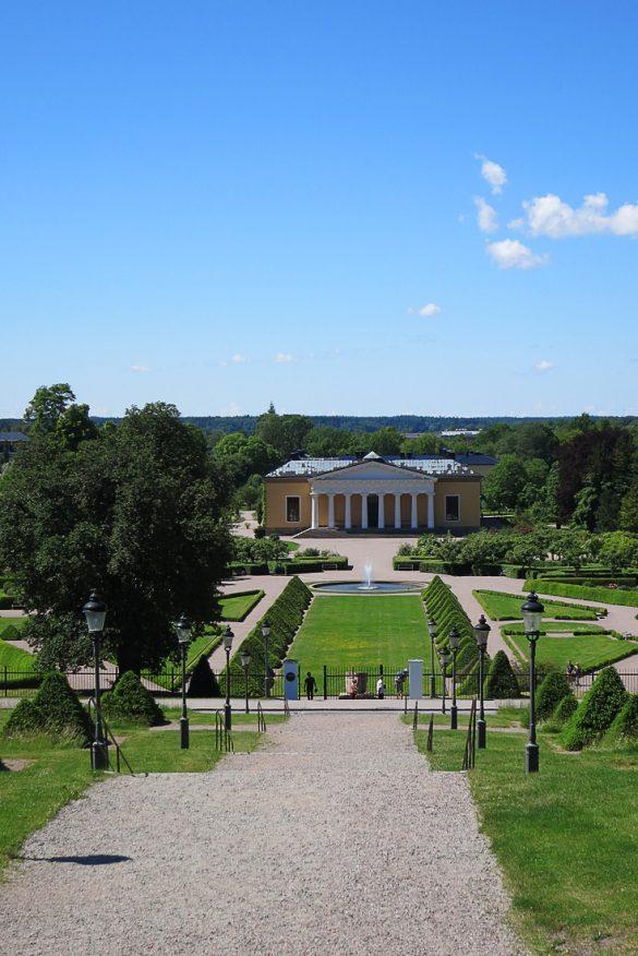 Botnični vrt v Uppsali